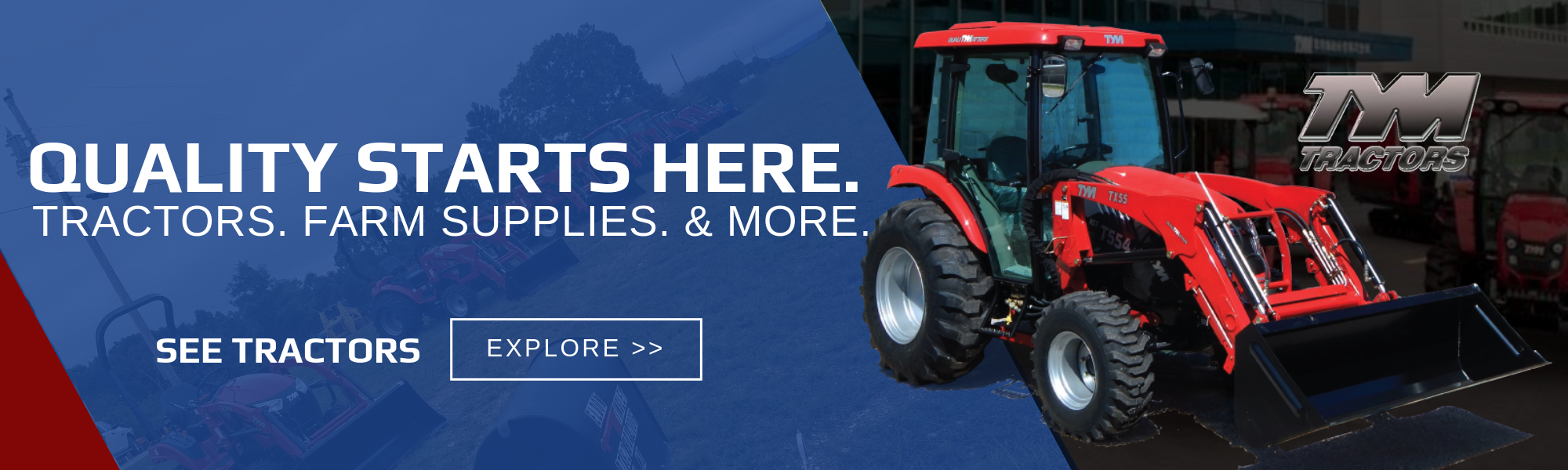 Click here to explore our tractor selection