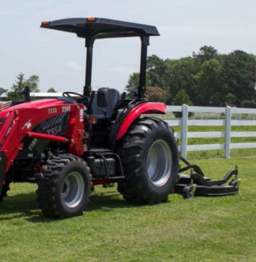 T554 COMPACT TRACTOR